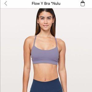 Lululemon Flow Y sports bra. Color Quartz Purple